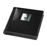 Tap 10 x 10 In. Bella Window Album Black with Black Pages (15 Pages)