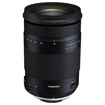 Tamron 18-400mm f/3.5-6.3 Di II VC HLD Lens with Hood for Nikon F