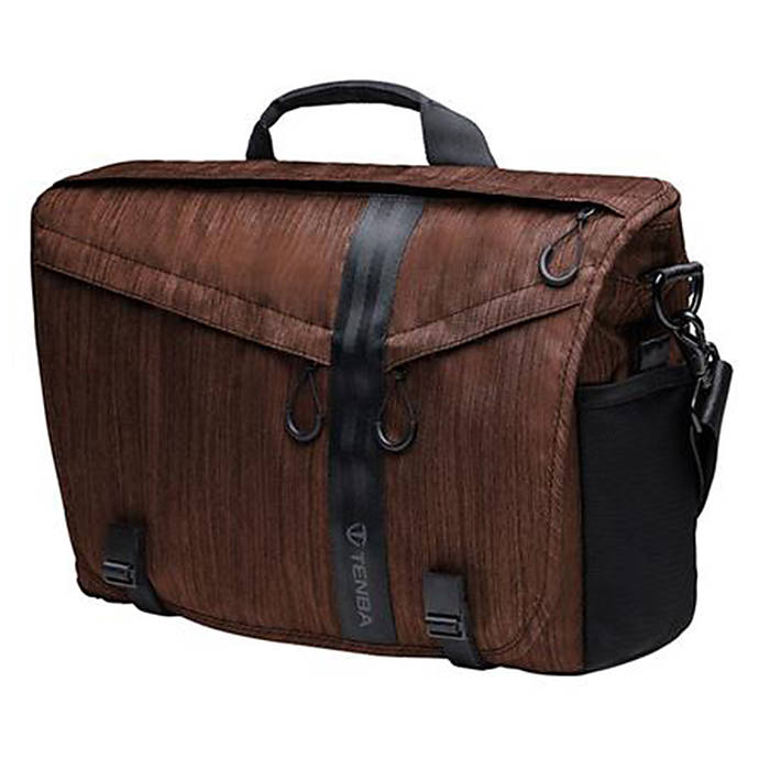 Tenba Dna 15 Slim Messenger Camera And Laptop Bag Dark Copper
