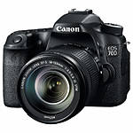 Used Canon 70D with 18-135mm f/3.5-5.6 STM - Excellent