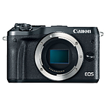 Used Canon EOS M6 Mirrorless Digital  - Black [D] - Excellent