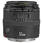 Canon EF 50mm f/2.5 Compact Macro Autofocus Lens [L] - Excellent