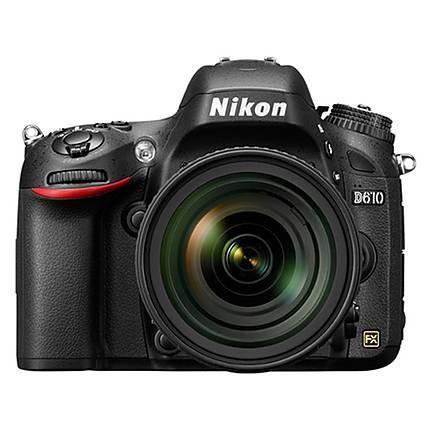 Used Nikon D610 FX-format Digital SLR Camera Body [D] - Excellent