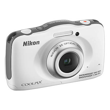 Used Nikon COOLPIX S32 (White) - Excellent
