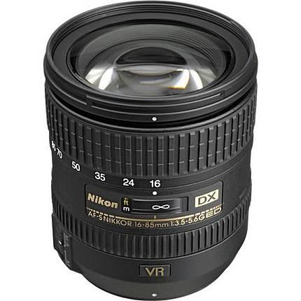 Used Nikon 16-85mm f/3.5-5.6G ED VR AF-S DX - Excellent