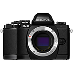 Used Olympus E-M10 Micro 4/3rds Camera in Black [M] - Excellent