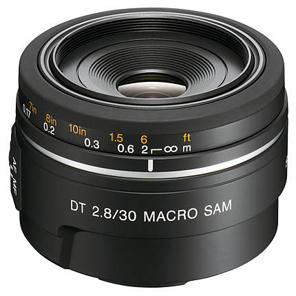 Used Sony A Mount 30mm f/2.8 Macro - Excellent