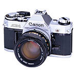 Used Canon AE-1 With Canon 50MM F/1.4 SSC [F] - Good