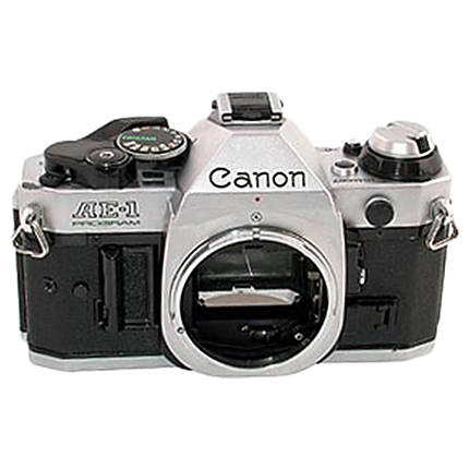 Used Canon AE-1 35mm SLR (Chrome) - Good