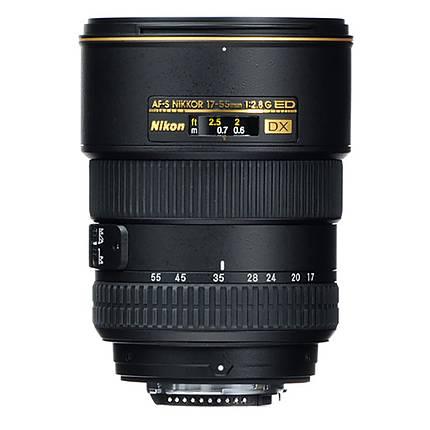 Used Nikon NIKKOR AF S 17 55 F 2 8G ED DX Lens [L] Good