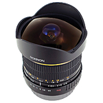 Used Rokinon 8mm f/3.5 Fish Eye for Canon - No Front Cap  [L] - Good