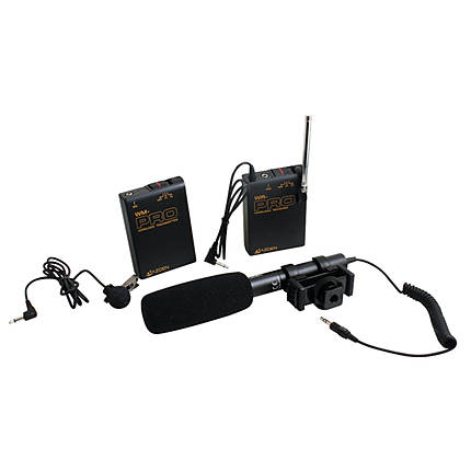 *Opened Box* Azden WHD-Pro Portable VHF Wireless Kit w/ SMX-10 Microphone