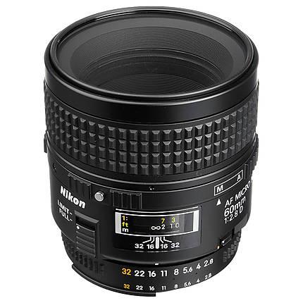 *Opened Box* Nikon AF Micro-Nikkor 60mm f/2.8D Standard Macro Lens - Black