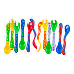 Nuby Spoon and Fork 4pk