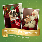 Holiday Pet Portraits with Santa