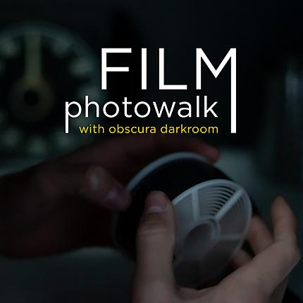 Film Photowalk with Obscura Darkroom