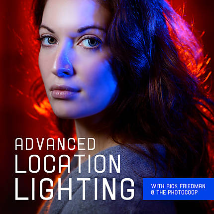 Advanced Location Lighting with Rick Friedman at the Photocoop