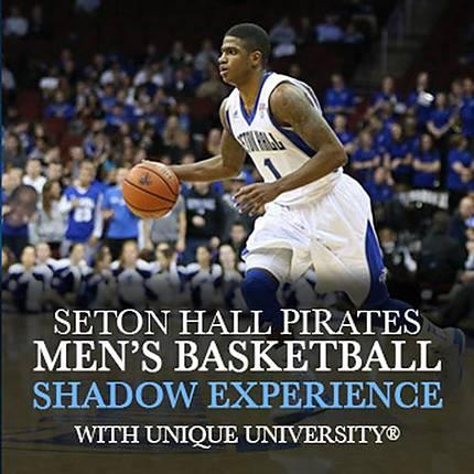 Capture the Seton Hall Pirates Mens Basketball (Shadow Experience)
