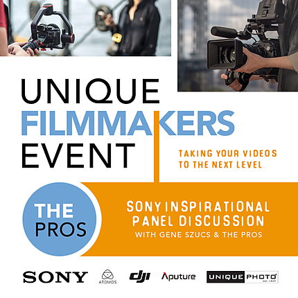 Sony Inspirational Panel Discussion with Gene Szucs and the Pros