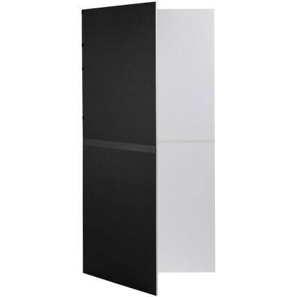 V-Flat World Foldable V-Flat (Black/White) - Single Unit