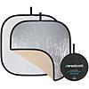 Westcott Illuminator Collapsible 4-in-1 Sunlight/Silver Reflector Kit 52in