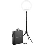 Westcott 18 Bi-Color LED Ring Light Kit with Batteries and Stand