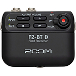 Zoom F2-BT Portable Bluetooth-Enabled Field Recorder with Lavalier Microphon