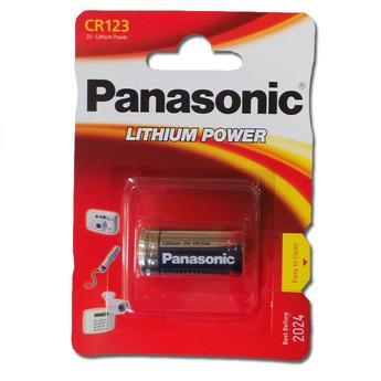 Panasonic CR-123APA/1B Lithium CR123 1-Pack