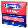 Benadryl 24ct Allergy
