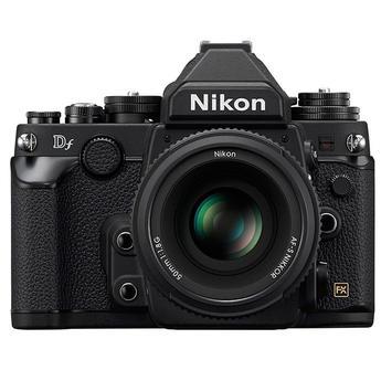 Nikon Df 16.2 MP CMOS Digital Camera with 50mm f/1.8G Lens-Black