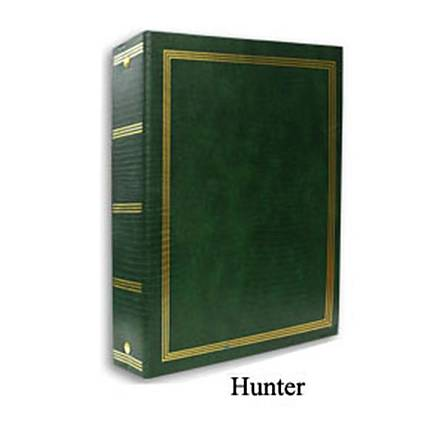 Pioneer 9 x 10 In. Magnetic 3-Ring Photo Album (100 Pages) - Hunter Green