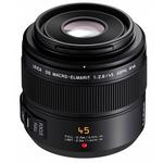 Panasonic Lumix G 45mm f/2.8 ASPH. Short Telephoto Lens - Black